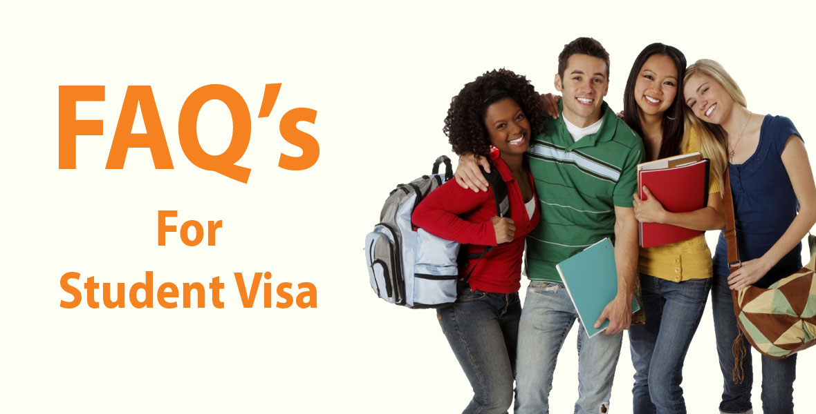 Frequently Asked Questions For Student Visa